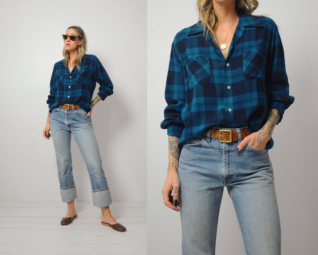 70's Campus Soft Flannel