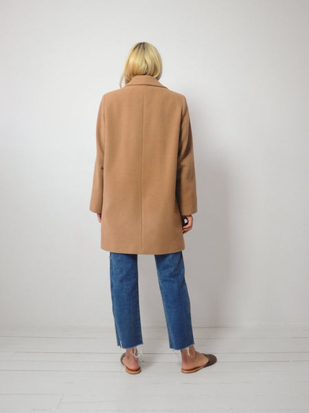Camel Spring Peacoat