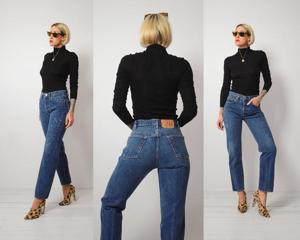 Levis 501 Straight Jeans 28x29