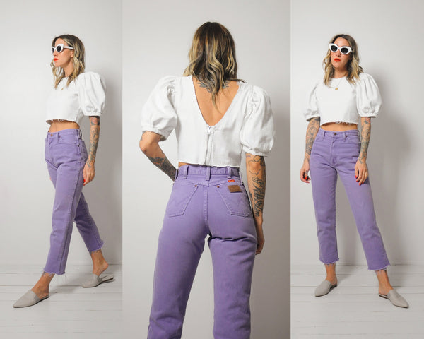 Lilac Wranglers Jeans 26x27