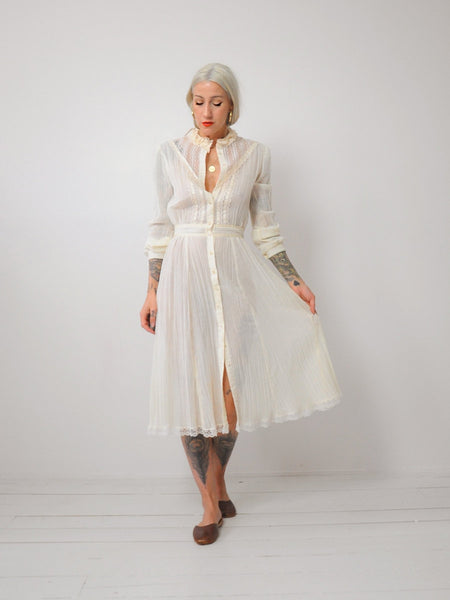 Bronte Cotton Gauze Dress