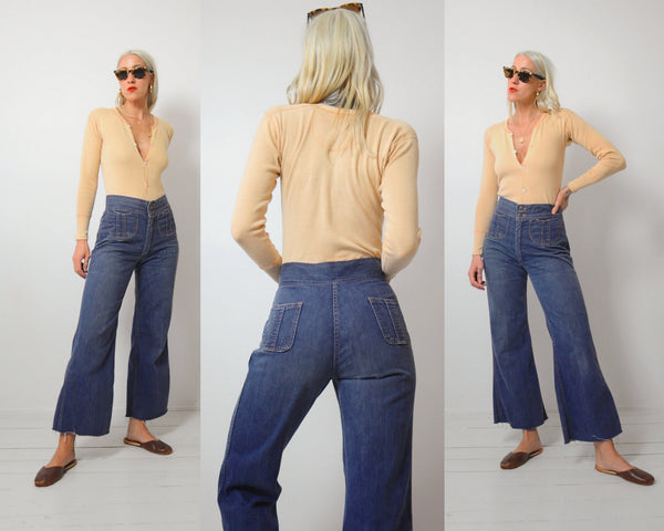 70's Marlow Flared Jeans