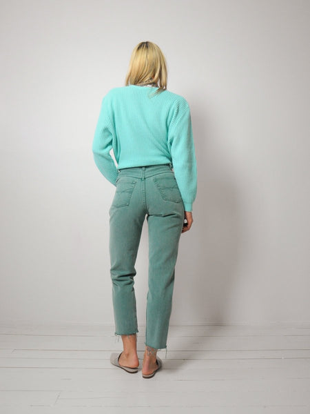 Sage Button Fly Jeans 26x27