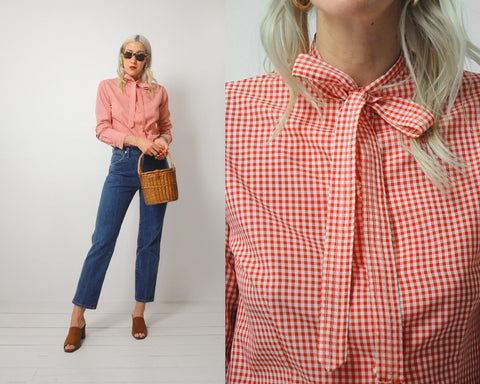Chessa Davis Gingham Shirt