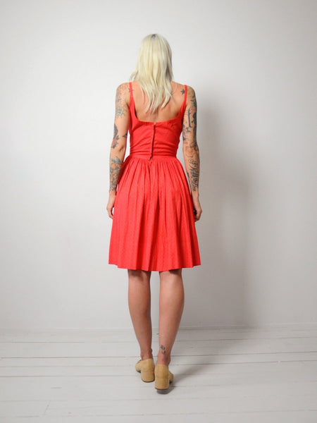 50's Capri Cotton Sundress