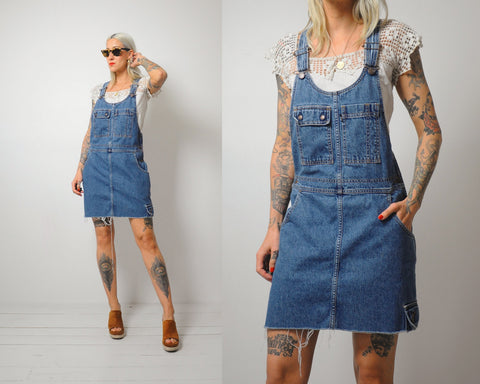 Levi's Overall Denim Dress