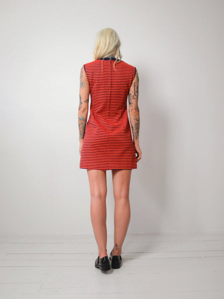 Tegan Striped Mini Dress