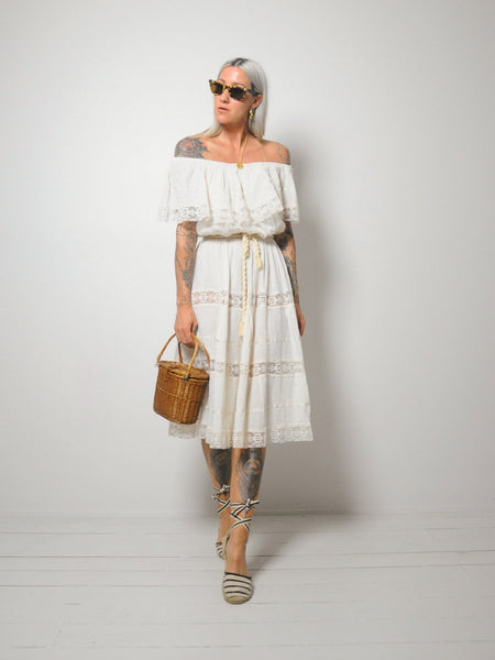 Gabriella Cotton Gauze Dress