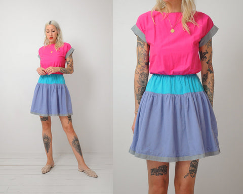 Jamie Colorblock Dress