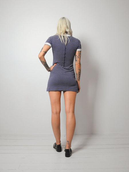 Clementine Dot Mini Dress