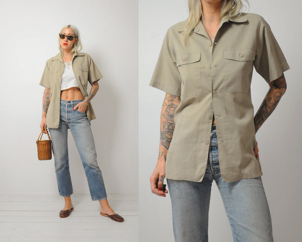 Military Issue Field Shirt
