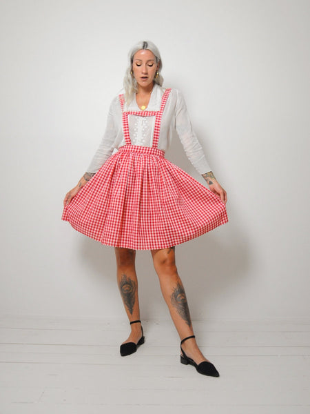 60's Gingham Leipzig Dress