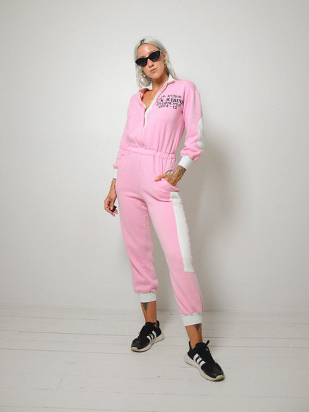 Life Zipper front Jumpsuit