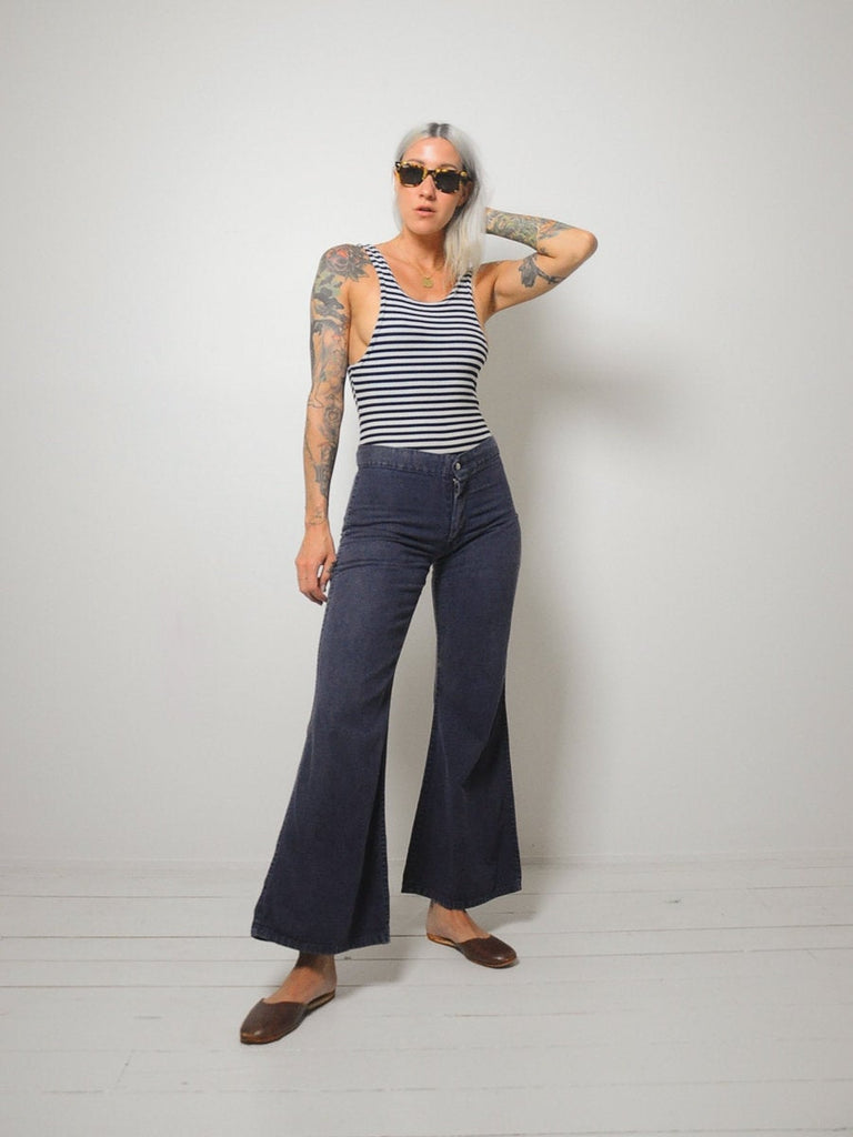 70's Roma Flared Jeans