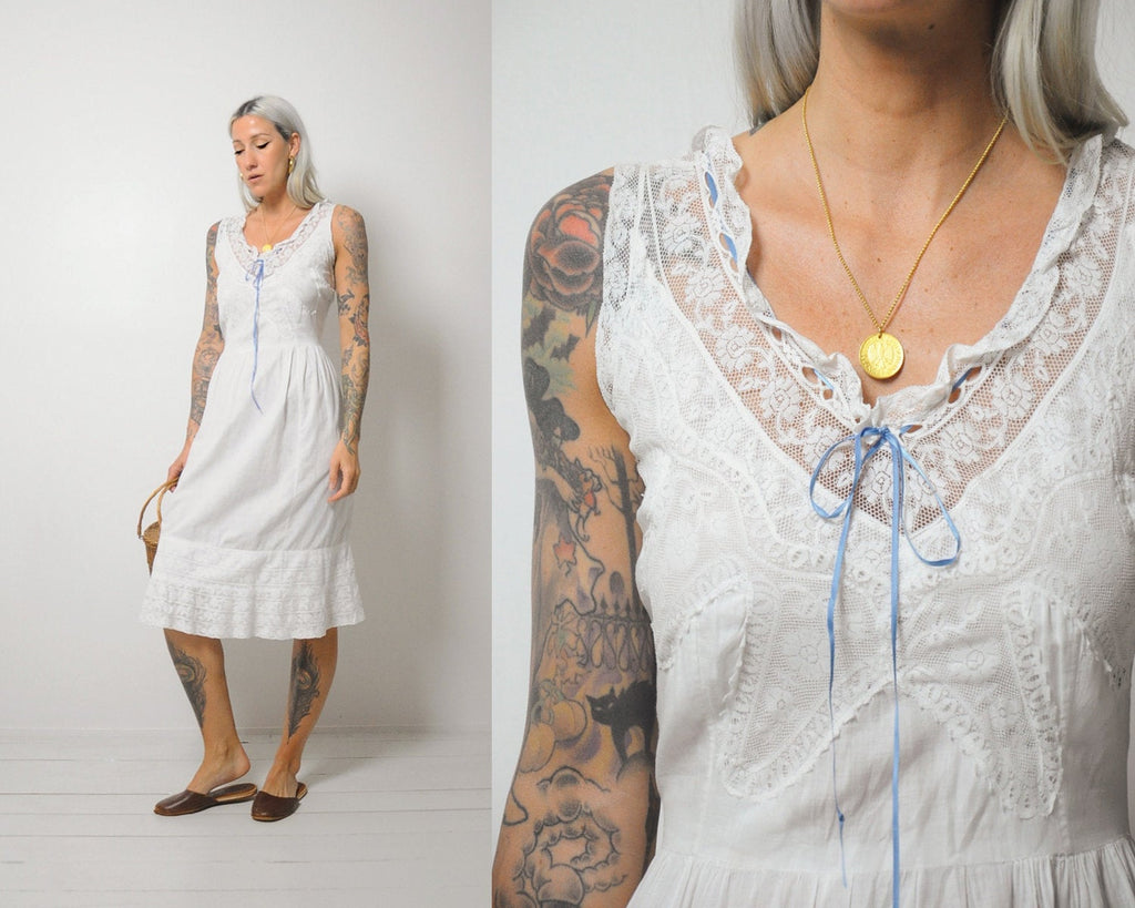 Gemma Edwardian Slip Dress