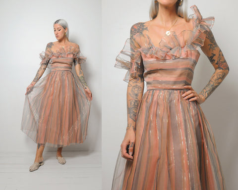 Desert Sunset Party Dress