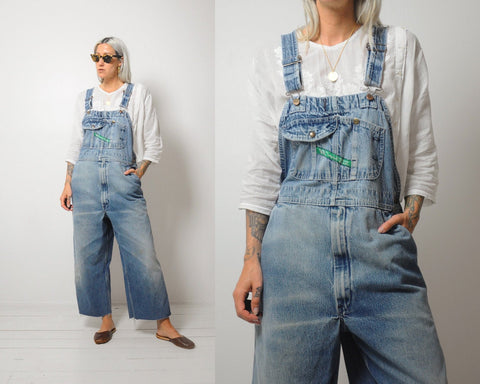 70s Faded Key Overalls