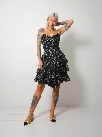 Constellation Corset Tie Dress