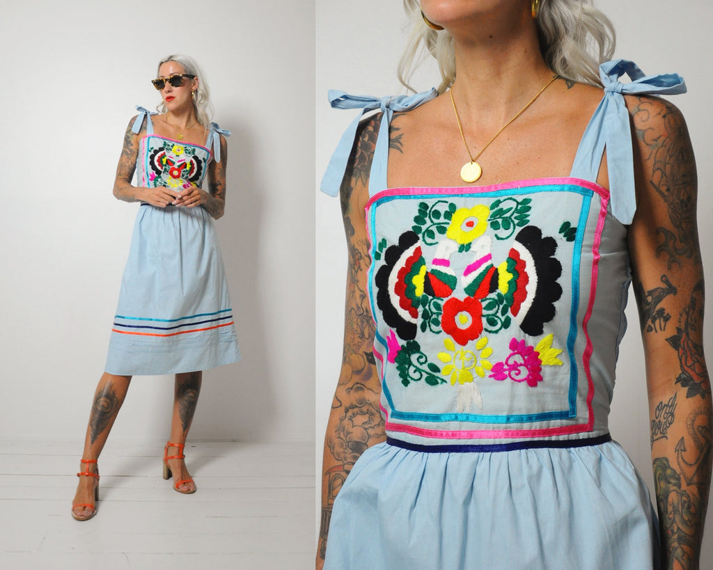 Evie Embroidered Dress