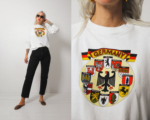 White Germany Sweatshirt