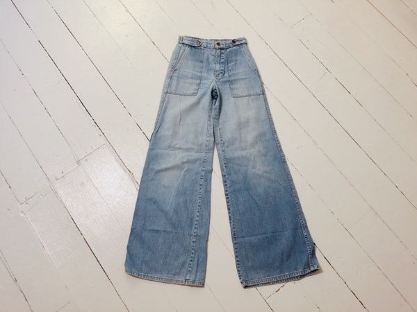 70's Best Faded Jeans 24x31