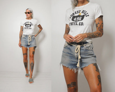 70's Lee Cut Off Shorts