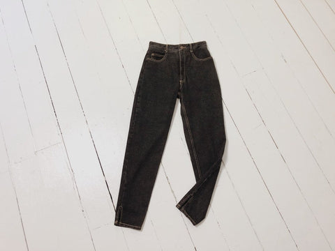 Black Faded Jeans 25x27
