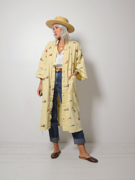 Christian Dior Duck Hunt Robe