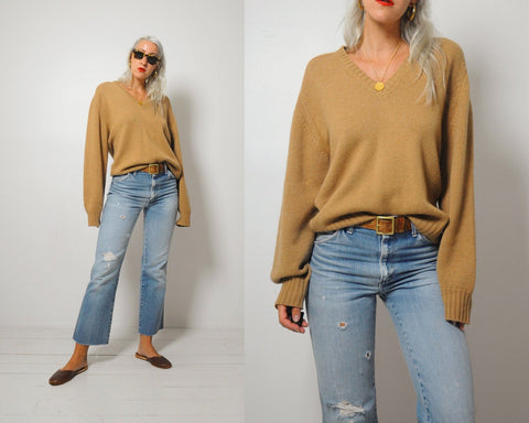60's Camel Hair Sweater