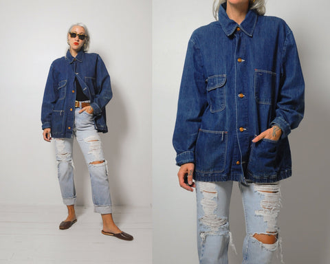 70's Blue Bell Denim Chore Coat