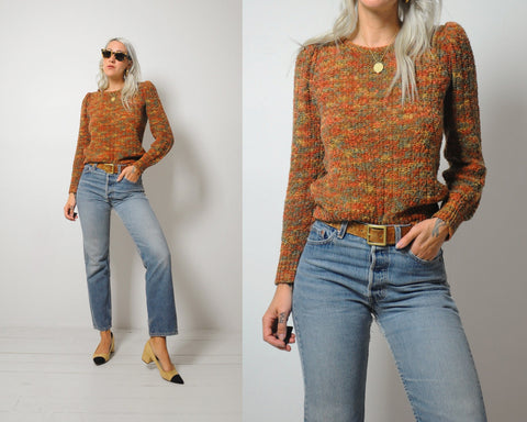 70's Autumn Days Sweater