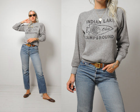 Indian Lake Tri-Blend Sweatshirt