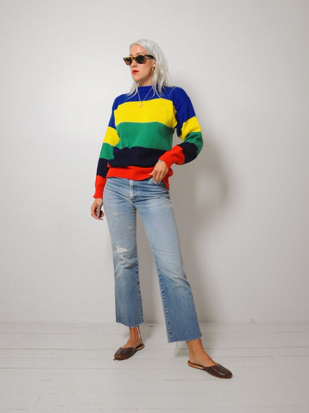 Crayola Striped sweater