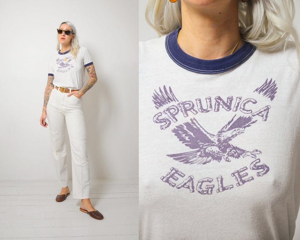 70's Sprunica Eagles Tee