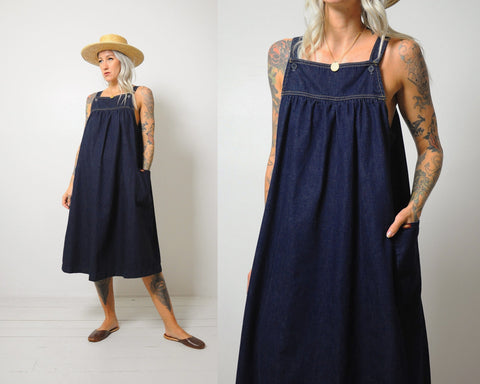 Lee Denim Trapeze Dress