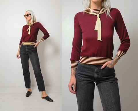 Aileen Striped Sweater