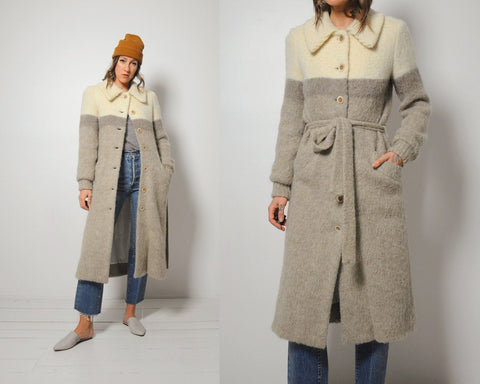 70's Icelandic Sweater Coat