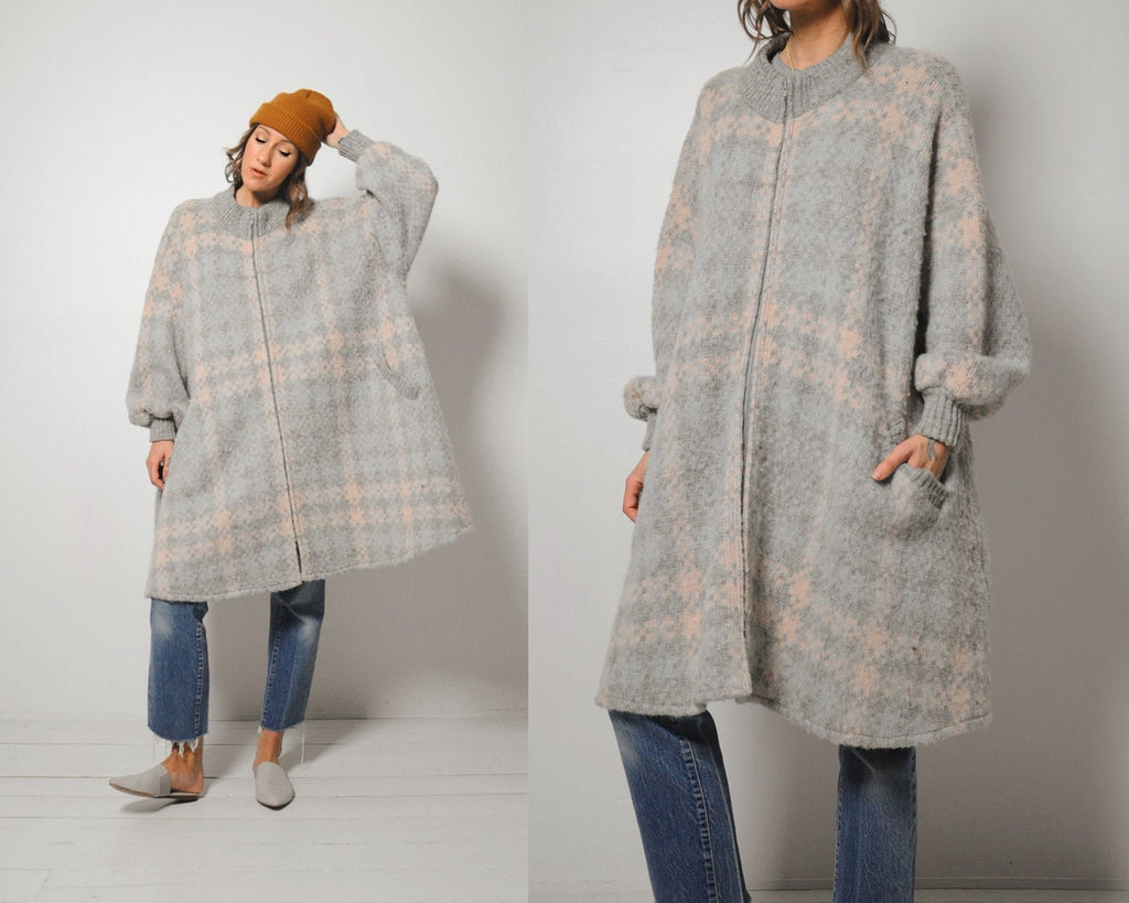 Icelandic Trapeze Sweater Coat