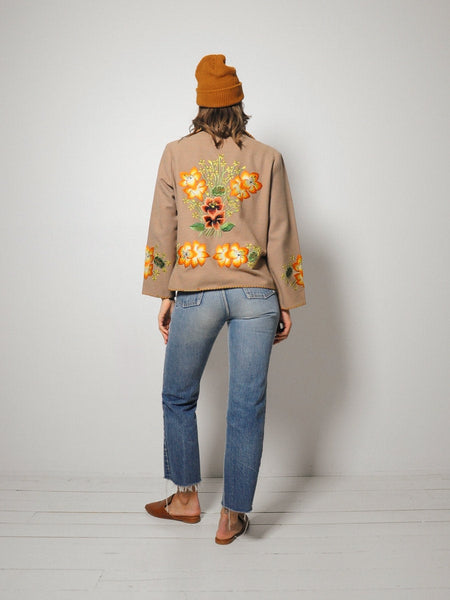40's/50's Embroidered Souvenir Jacket