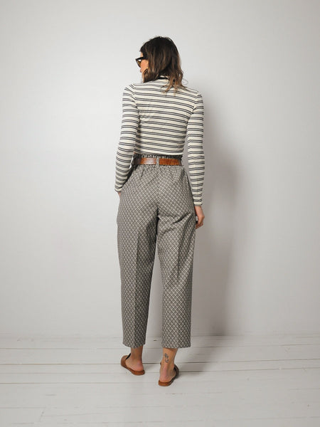 Cotton Pleated Trousers 25x25.5
