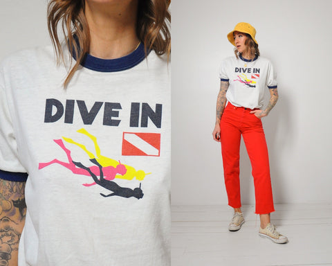 70's SS Norway Dive T-shirt