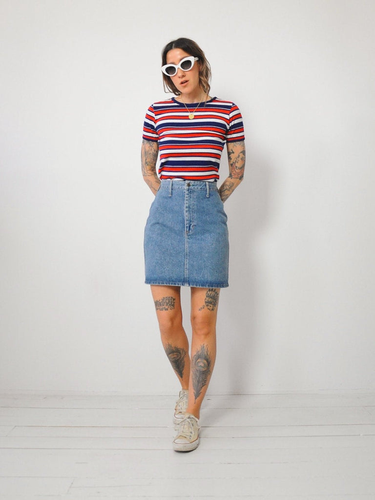 Bongo Denim Mini Skirt