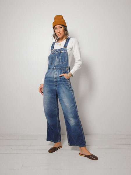 70's Best Faded Lee Overalls