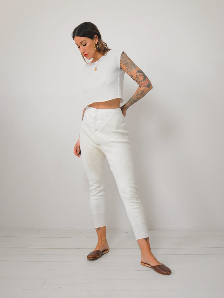 50's Military Long Johns