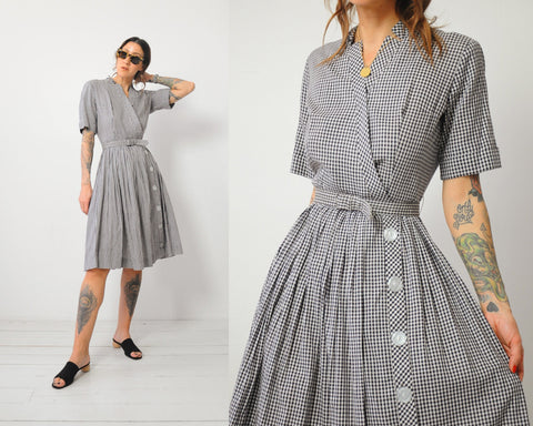 50's Ciao Gingham Dress