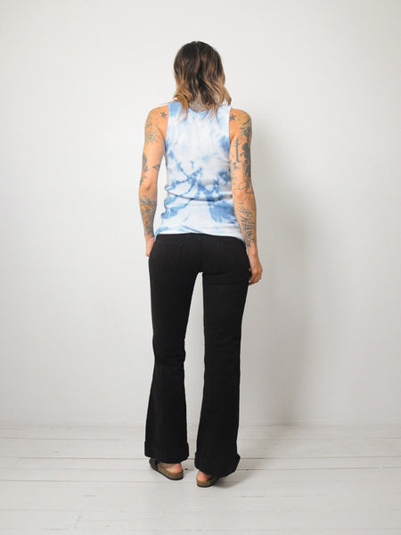 Tie Dyed Ribbed Tank