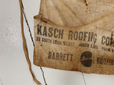 50's Kasch Roofing Work Apron