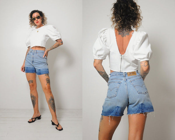 Levi's Faded Cut Off Shorts
