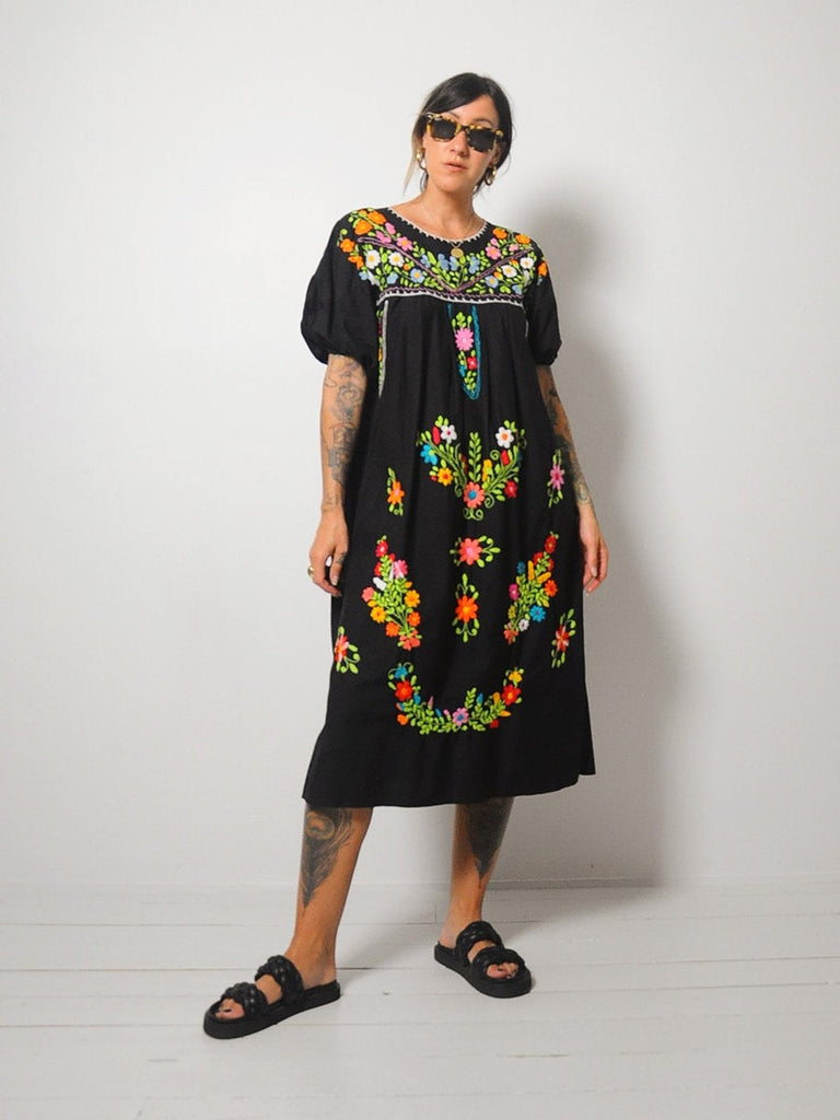 Sayulita Embroidered Dress