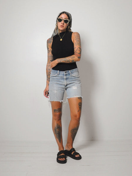 Faded 70's Frayed Cut Offs